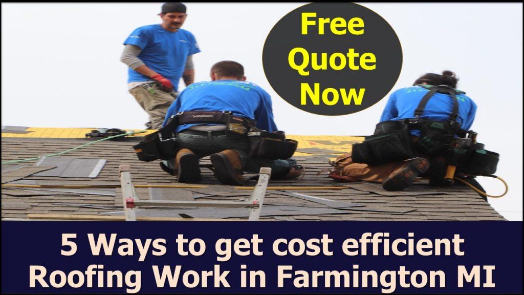 roofing service near farmingon mi