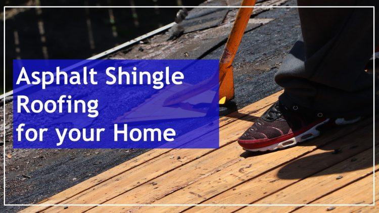 asphalt roof shingles at home