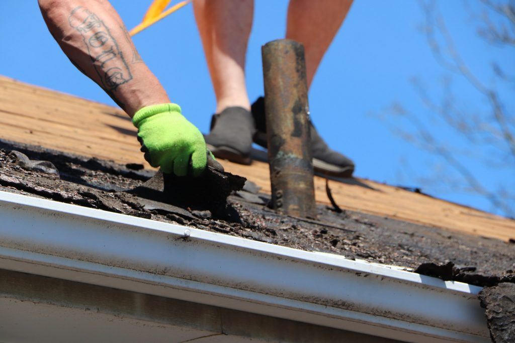 quick roof leak fix asphalt shingles